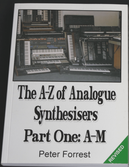 book cover - The A-Z of Analogue Synthesisers